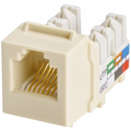 CAT3 6P6C KEYWERKS USOC TOP TERMINATION ALMOND