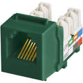 CAT3 6P6C KEYWERKS USOC TOP TERMINATION GREEN