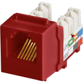 CAT3 6P6C KEYWERKS USOC TOP TERMINATION RED