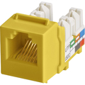 CAT3 6P6C KEYWERKS USOC TOP TERMINATION YELLOW