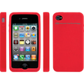 Protective Case for iPhone 4 & 4S - Red