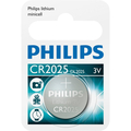 1PK CR2025 BUTTON CELL 3V LITHIUM CASE ONLY