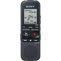 Flash Digital Voice Recorder, 4GB Flash, Black