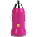 iEssentials USB Car Charger Pink