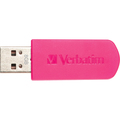 8GB STORE N GO MINI USB DRIVE  HOT PINK