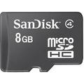 SDSDQ-008G STD MICROSD CARD W/ ADAPTER JC ADAP