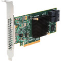 Intel RAID Controller 12Gb/s SAS, 6Gb/s SATA, LSI3008 IOC-based entry-RAID 0,1,1E,10 & JBOD, x8 PCIe 3.0, 8 internal ports, MD2 Low Profile, half-length form factor. - Includes: One RAID adapter with full and low proile brackets