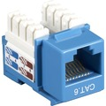 CAT5E BLUE KEYSTONE JACK VALUE LINE