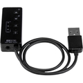 USB Stereo Audio Adapter External Sound Card with SPDIF Digital Audio and Built-in Microphone