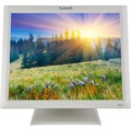 17 in White Economical 5-Wire Resistive Touch Screen LCD with Dual USB/Serial Co
