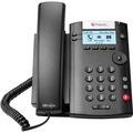 VVX201 2LINE DESKTOP PHONE POE WITH DUAL 10/100 ETHERNET PORTS IN