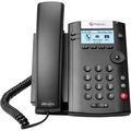 VVX 201 2-LINE DESKTOP PHONE DUAL 10/100 PORTS+UCS LYNC LIC  IN