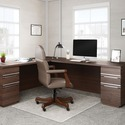 "Deflecto RollaMat for Carpet - Carpeted Floor - 60"" (1524 mm) Length x 46"" (1168.40 mm) Width - Vinyl - Clear"