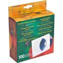 "Compucessory CD/DVD White Window Envelopes - CD/DVD - 5"" Width x 5"" Length - White"