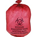 Unimed-Midwest Red Biohazard Waste Bag
