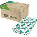 """Rolland Enviro100 Laser Recycled Paper - White - Recycled - 100% - 89% Opacity - Legal - 8 1/2"""" x 14"""" - 20 lb Basis Weight - Smooth - 500 / Ream"""