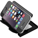 """Deflecto Hands-Free Smartphone Stand - 2.75"""" (69.85 mm) x 4"""" (101.60 mm) x 2.75"""" (69.85 mm) x - 1 Each - Black"""
