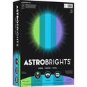 """Astrobrights Inkjet, Laser Colored Paper - Letter - 8 1/2"""" x 11"""" - 24 lb Basis Weight - 500 / Ream - Martian Green, Terrestrial Teal, Lunar Blue, Celestial Blue, Venus Violet"""