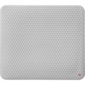 "3M Precise Mouse Pad with Gel Wrist Rest - Gray Bitmap - 8"" (203.20 mm) Dimension - Foam"