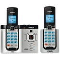VTech Connect to Cell DS66212 DECT 6.0 Cordless Phone - Cordless - Corded - 1 x Phone Line - Speakerphone - Answering Machine