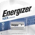 Energizer Lithium 123 3-Volt Battery - For Camera - 3 V DC - 1300 mAh - Lithium (Li)