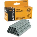 """Bostitch B8 PowerCrown 3/8"""" Staples - 210 Per Strip - 3/8"""" Leg - 1/2"""" Crown - Holds 45 Sheet(s) - Chisel Point - Silver - High Carbon Steel - 2"""" (50.80 mm) Height x 0.50"""" (12.70 mm) Width0.38"""" (9.53 mm) Length - 5000 / Box"""