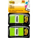 """Post-it® Flags, 1"""" Wide, Bright Green 2-pack"""