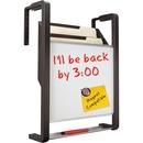 """Quartet® Hanging File Pocket, 11"""" x 13"""", 3 Pockets, Magnetic Whiteboard"""