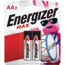 Energizer MAX Alkaline AA Batteries, 2 Pack