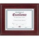 DAX Executive Mahogany Document Frame