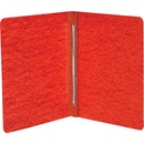 """ACCO® PRESSTEX® Report Covers, Side Binding for Letter Size Sheets, 3"""" Capacity, Executive Red"""