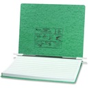 "ACCO® PRESSTEX® Covers w/ Hooks, Unburst 14 7/8"" x 11"" Sheets, Light Green"