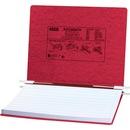 "ACCO® PRESSTEX® Covers w/ Hooks, Unburst 14 7/8"" x 11"" Sheets, Executive Red"