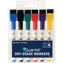 Quartet® ReWritables® Mini Dry-Erase Markers, Magnetic, Assorted Classic Colors, 6 Pack
