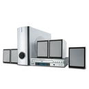 Coby DVD755 Home Theater System - DVD Player, 5.1 Speakers - Progressive Scan - 150W RMS - Dolby Digital