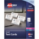 "Avery® Place Cards, Two-Sided Printing, 2"" x 3-1/2"", 160 Cards (5302)"
