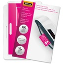Fellowes Glossy Pouches - ID Tag punched, 10 mil, 100 pack
