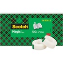 "Scotch® Magic™ Tape, 3/4"" x 1000"", 24 Boxes/Pack, 1"" Core"