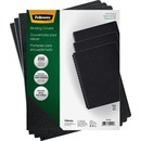 Fellowes Expressions™ Linen Presentation Covers - Oversize, Black, 200 pack