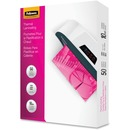 Fellowes Glossy Pouches - Letter, 10 mil, 50 pack