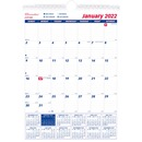Rediform Ruled Block Monthly Wall Calendar