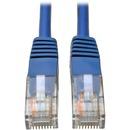 Tripp Lite 100ft Cat5e / Cat5 350MHz Molded Patch Cable RJ45 M/M Blue 100'