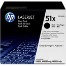 HP 51X Original Toner Cartridge - Dual Pack