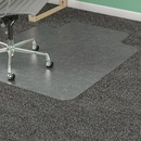 Lorell Low Pile Wide Lip Antistatic Chairmat