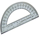 "CLI 6"" Open Center Protractor"