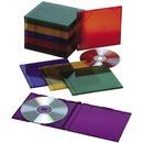 SKILCRAFT Multi-color Slim CD Jewel Cases