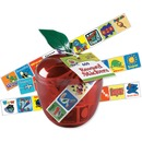 Pacon Plastic Apple Reward Stickers