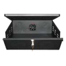 Clover Lock Box For VCR & DVR With Fan - Black