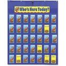 Carson-Dellosa PreK-Grade 5 Attendance/Multiuse Pocket Chart