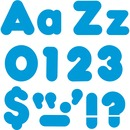 "Trend Blue 4"" Casual Combo Ready Letters Set"